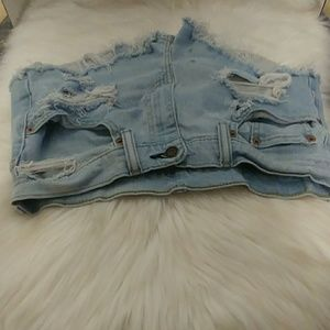 Levi's 505 Distressed Shorts